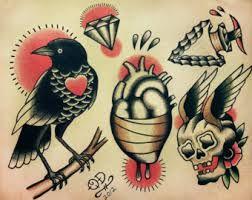 Resultado de imagen para tatuajes tradicionales americanos \u2026