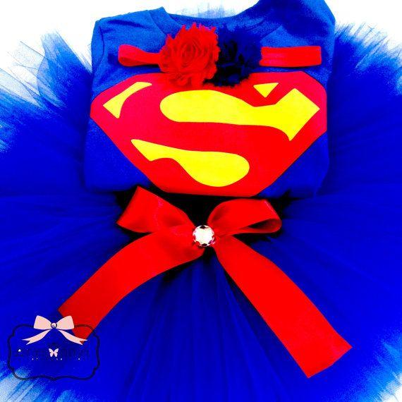 Inspired Custom Superman Tutu Set Superman by DesiraesCloset