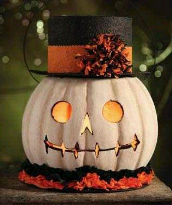 jack skellington jack o lantern fun halloween decor idea - Creative Halloween Decoration Ideas