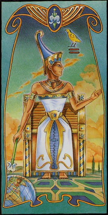 Egyptian Tarot Kit Deck Book Loscar: TarotAcademy.org Images On Pinterest