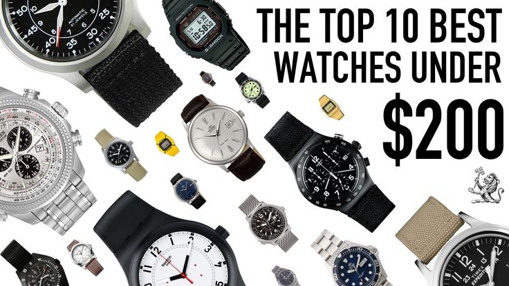 Top 10 Best Value For Money Watches From $50 to $200 - Seiko, Citizen, O...