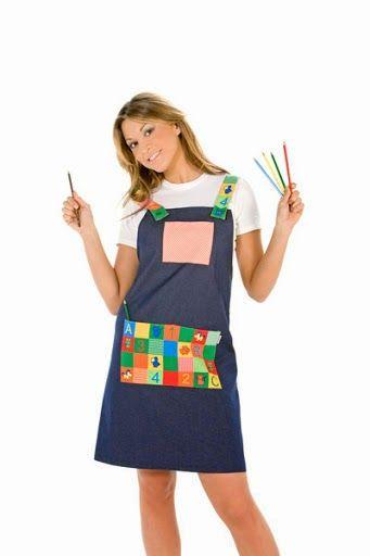 Meus Trabalhos Pedagógicos ®: Uniformes, batas e jalecos, para professores.