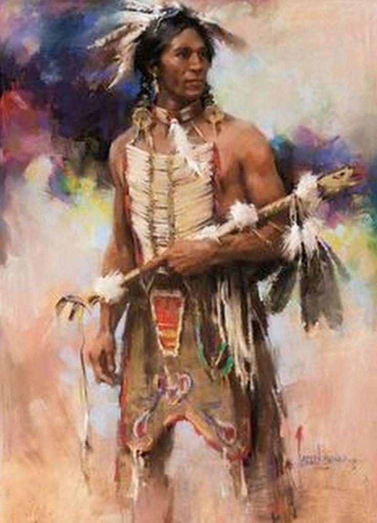 pinturas-de-indios-americanos-al-oleo.jpg (738×1024)