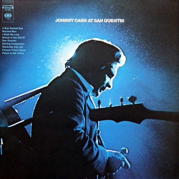 This day in 1969 Johnny Cash recorded a concert at San Quentin Prison.