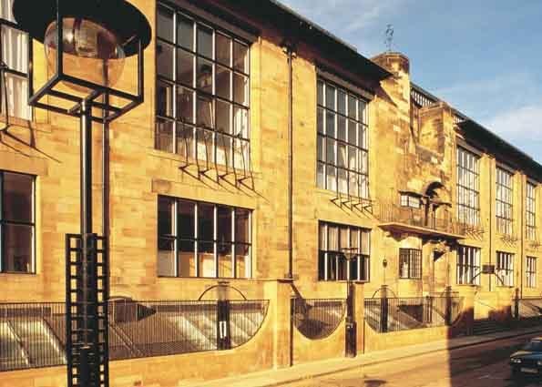 Mackintosh, Scotland. Glasgow School of Art