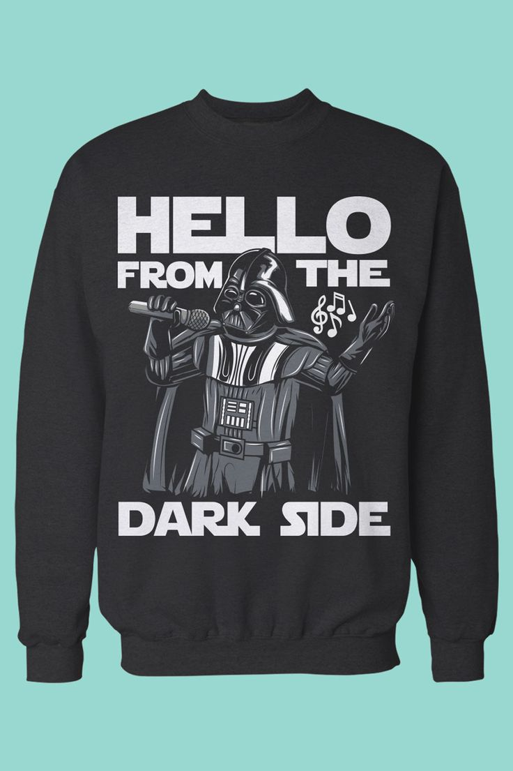 "The perfect gift for Adele and Star Wars fans. I love this - Darth singing ""Hello from the Dark Side"" <3"