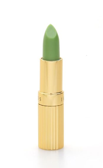 No more worrying if lipstick has faded!  Special ingredients moisturize and care for your lips and react to the pH level of your skin.   This Green lipstick color changes from light pale pink, to light rose pink, to rosey pink- depending on your skin tone and PH level of your skin.  Long-lasting for up to 12 hours.  Product weight: 3.5 grams/ 0.12 oz