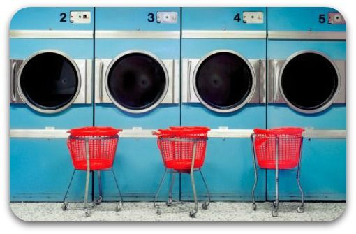 Laundry Day - Laundromat | Smelly Towels? | Stinky Clean Laundry? | http://WasherFan.com | Permanently Eliminate or Prevent Washer & Laundry Odor with Washer Fan™ Breeze™ | #Laundry #WasherOdor #SWS