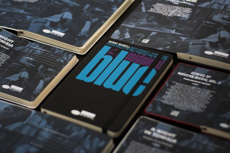 Blue Note Limited Edition Notebook Collection - Midnight Blue, Kenny Burrell