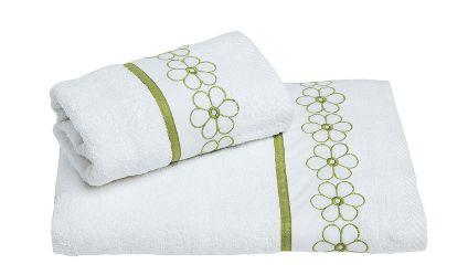Juego Toallas Margarita Blanco. Visítanos en tuakiti.com #toallas #towels #juegotoallas #towelset #decoracion #homedecor #hogar #home #baño #bathroom #margarita #daisy  #tuakiti