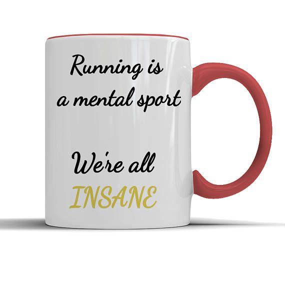 Gift For Runner Running Lover Mug Coffee Quotes Motivation Inspiration Funny