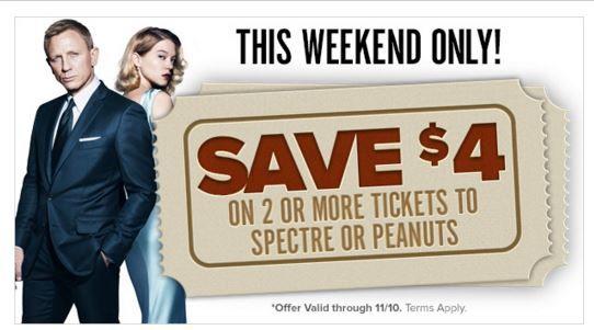 Fandango Movie Ticket Deals: $4 off 2 or More Tickets!