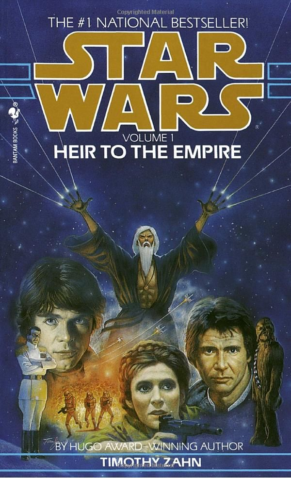 This is one of my favorite Star Wars books. This entire trilogy is just fantastic, actually.