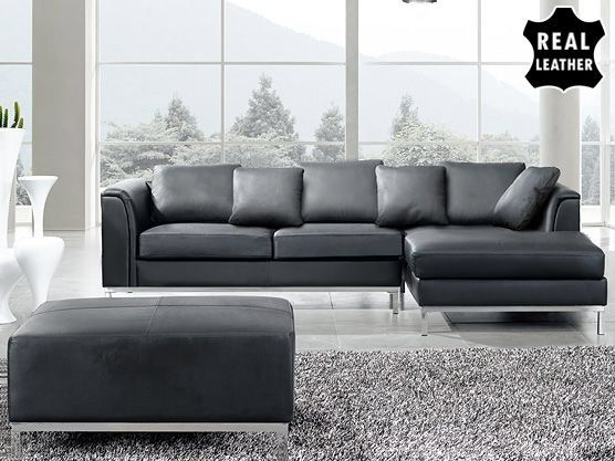 Oslo 3 Piece Leather Living Room Set Part 81