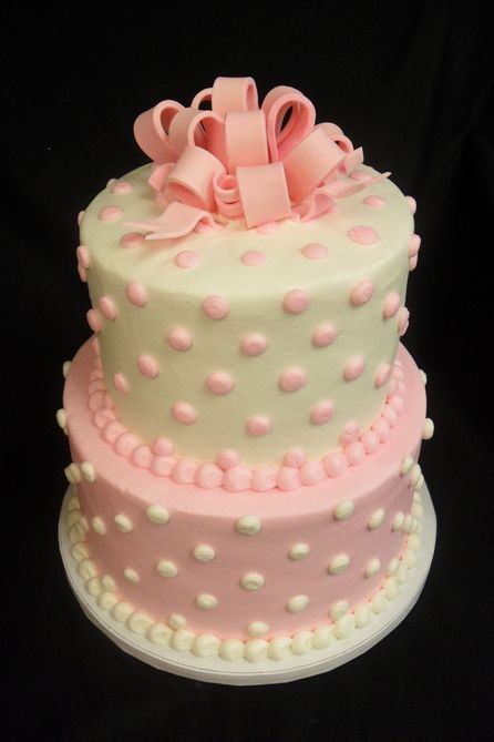 girl baby shower cakes images - Google Search                                                                                                                                                                                 More