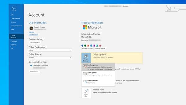 How To Update Microsoft Outlook On Your Computer And Make Sure You Have The Latest Version Microsoft Outlook How To Remove Microsoft