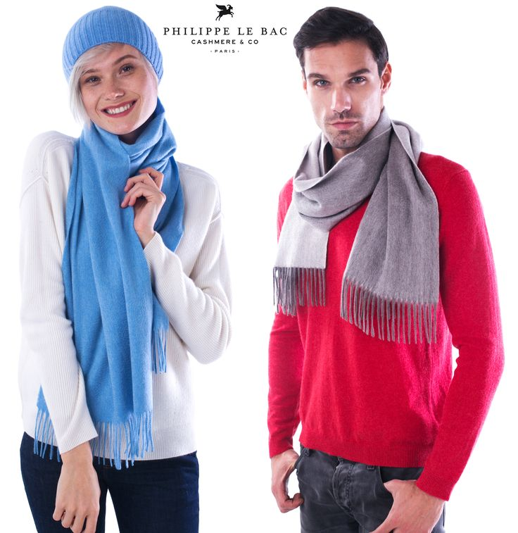 Philippe le Bac 100% Pure Cashmere Sweater, Scarf, Hat