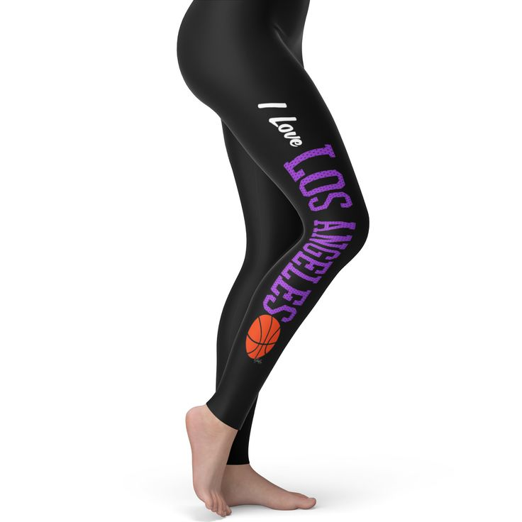 I Love Los Angele...  http://twistedenvy.com/products/i-love-los-angeles-la-basketball-womens-leggings?utm_campaign=social_autopilot&utm_source=pin&utm_medium=pin   Twisted Envy unique gift ideas and personalised gifts, as well as inspirational art    #Twistedenvy
