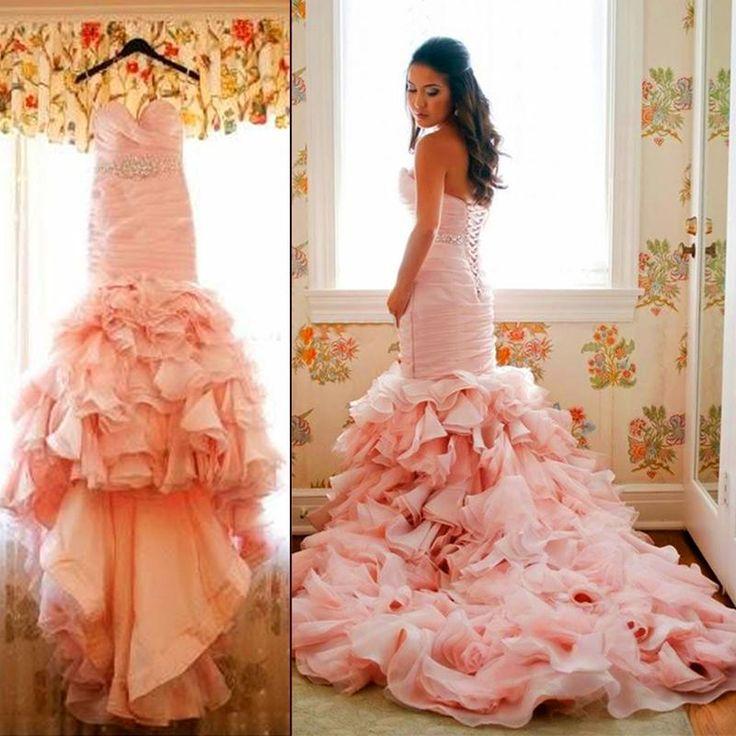 Blush Wedding Gowns: 25+ Best Ideas About Blush Pink Wedding Dress On Pinterest