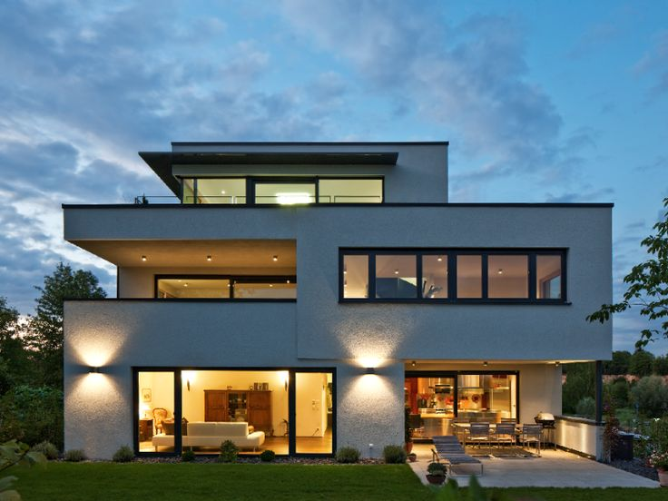 Hausbau moderner baustil  11 besten Außenbeleuchtung Bilder auf Pinterest | Moderne häuser ...