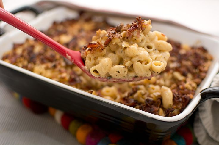Mac'n'cheese med bacon