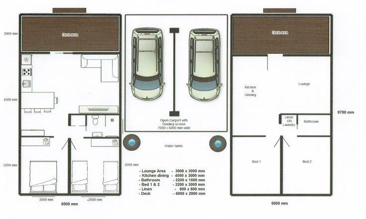 Cabin Floor Plans - Lochlan