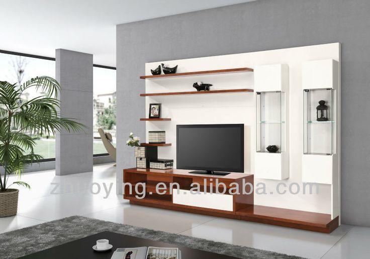 Wall Design For Led Tv : Modern furniture led tv wall unit fa buy