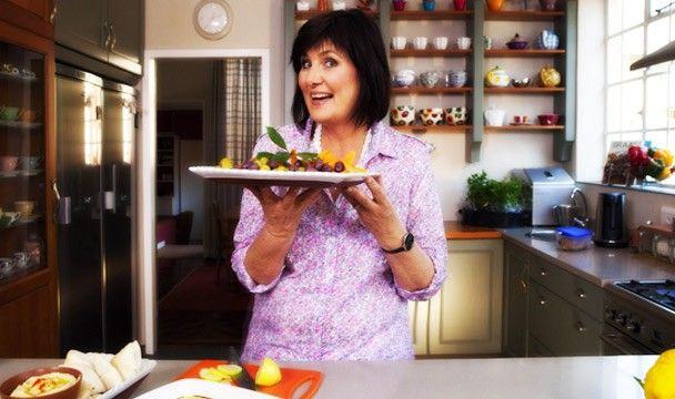 Sweet Potatoes with Rhubarb : Dinner Dash with Hilary Biller : The Home Channel