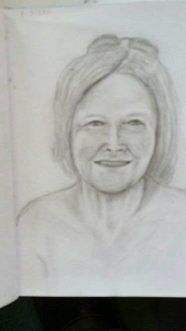 Anne pencil sketch