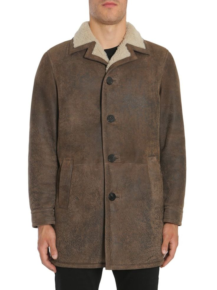 NEIL BARRETT Cappotto In Shearling. #neilbarrett #cloth #https: