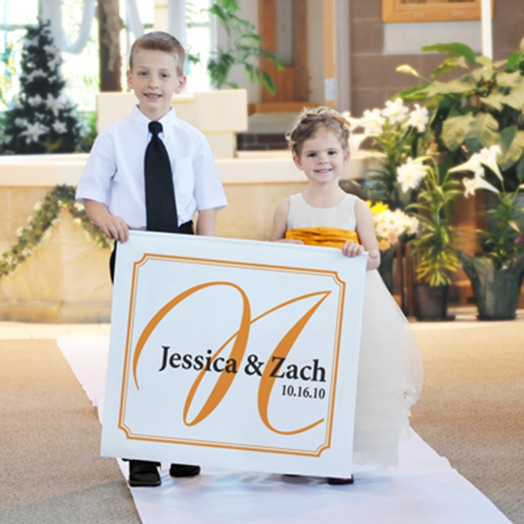 wedding banner available in other colors