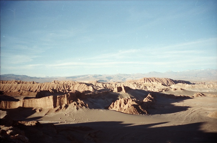 Atacama desert Valley of the Moon