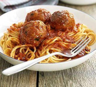 Italian tuna balls. Super fast & yummy pantry meal.