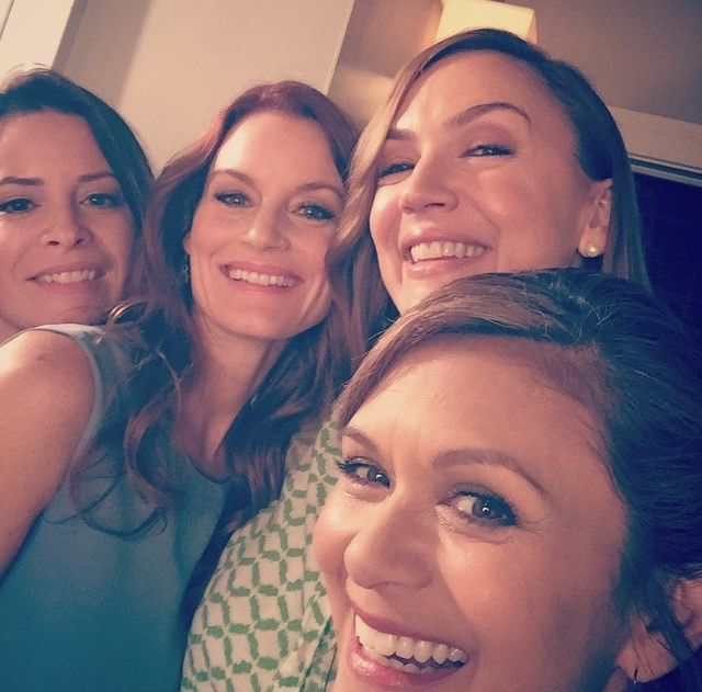 Holly Marie Combs, Laura Leighton, Lesley Fera, & Nia Peeples