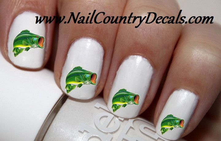 The 18 best fishing nail art images on Pinterest | Nailed it ...