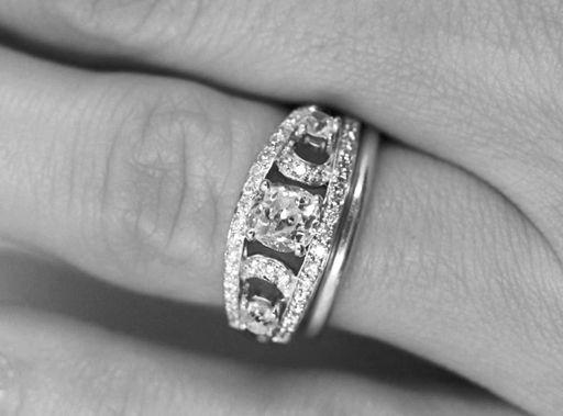 Super 36 best Bague diamant fiançailles images on Pinterest | Engagement  HU89