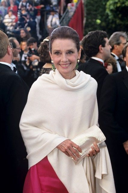 Audrey Hepburn in 1992; such a beautiful woman, inside and out still oozes style and sophistication