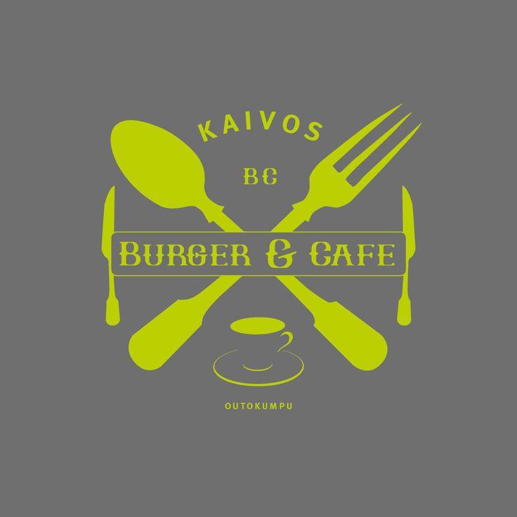 Logo design - Logon suunnittelu ravintola kahvilalle. #logo #design #logodesign