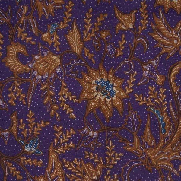 Indonesie Hand Drawn Batik Tulis Fabric Textile Cloth Wax Dye North Coast bz36, Pekalongan