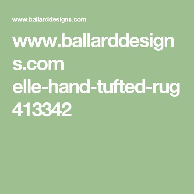 www.ballarddesigns.com elle-hand-tufted-rug 413342