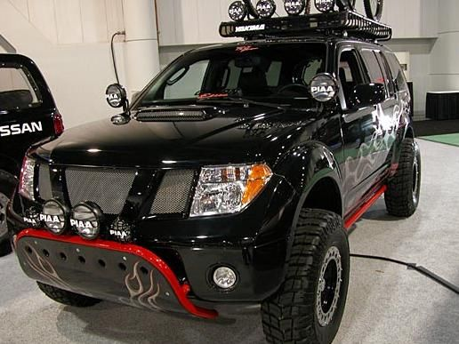 2007 Nissan Xterra Accessories >> Nissan pathfinder offroad | ... off road lights Nissan Pathfinder Built In HID Off Road Fog ...