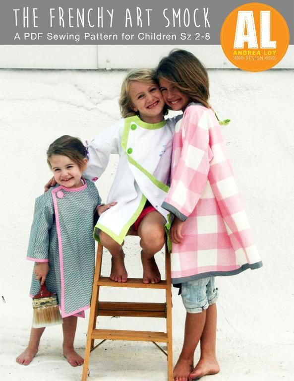 (9) Name: 'Sewing : The Frenchy Art Smock for Kids