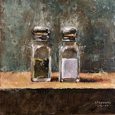 """""""PEPPER & SALT"""" Artist: Craig Stephens"""