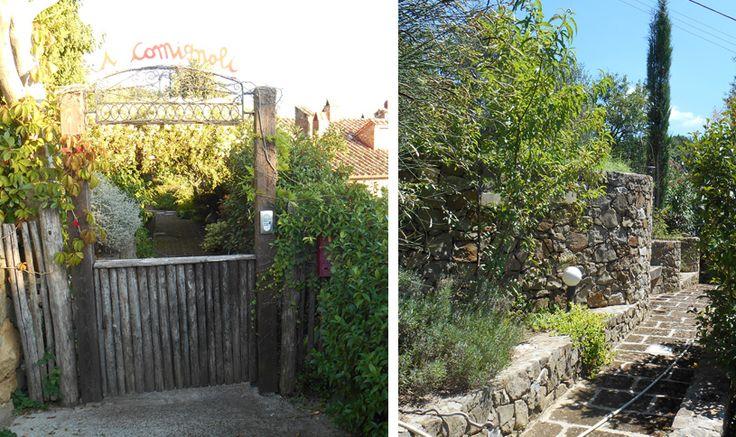 Si accede alla proprietà dal viale che attraversa il giardino. The property is accessed from the avenue that runs through the garden.