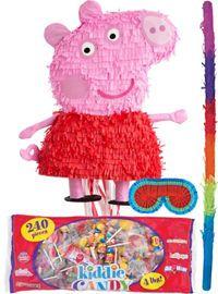 Pull String Peppa Pig Pinata Kit - Party City
