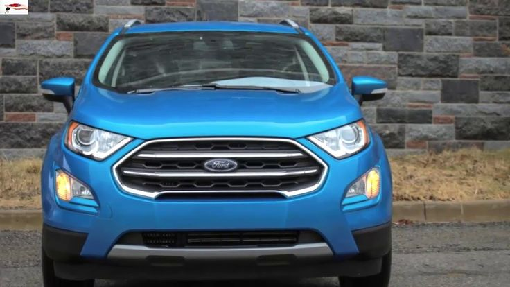 2018 Ford EcoSport suv review