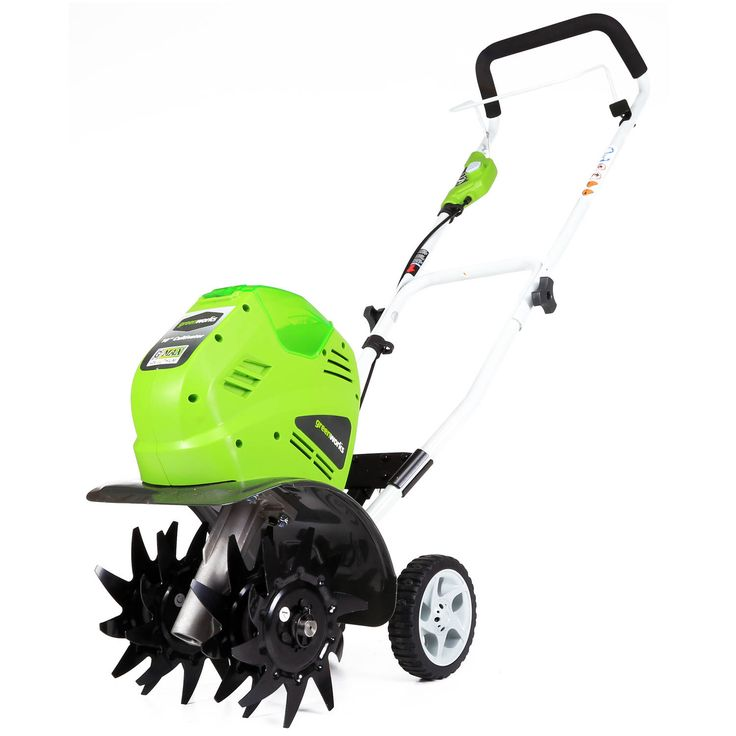 Greenworks 27062 g-max rototiller your best gardener