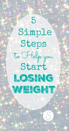 Losing weight can be simple!