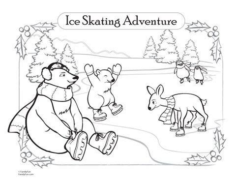 7 best Free Winter Coloring Pages images on Pinterest Crayons