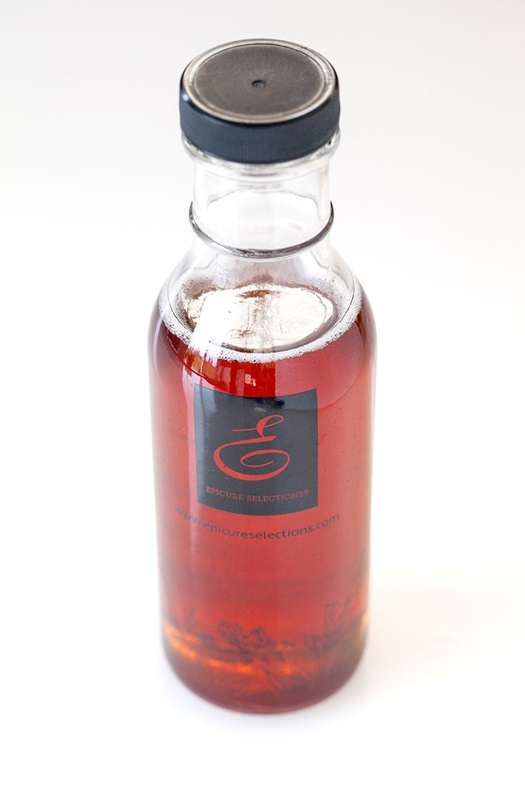Epicure's Really Simple Pink Lady Herbal Blossom Tea infused Syrup
